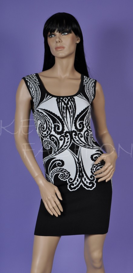 Šaty Guess Sleeveless Ornate