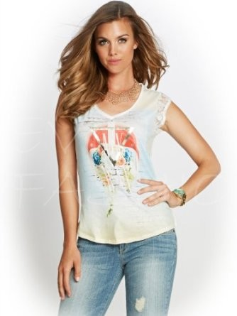 Tričko Guess Graphic tee with