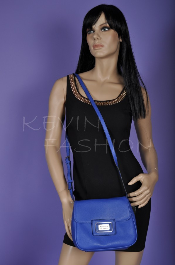 GUESS kabelka Kabrina Cross-Body Bag (Blue)