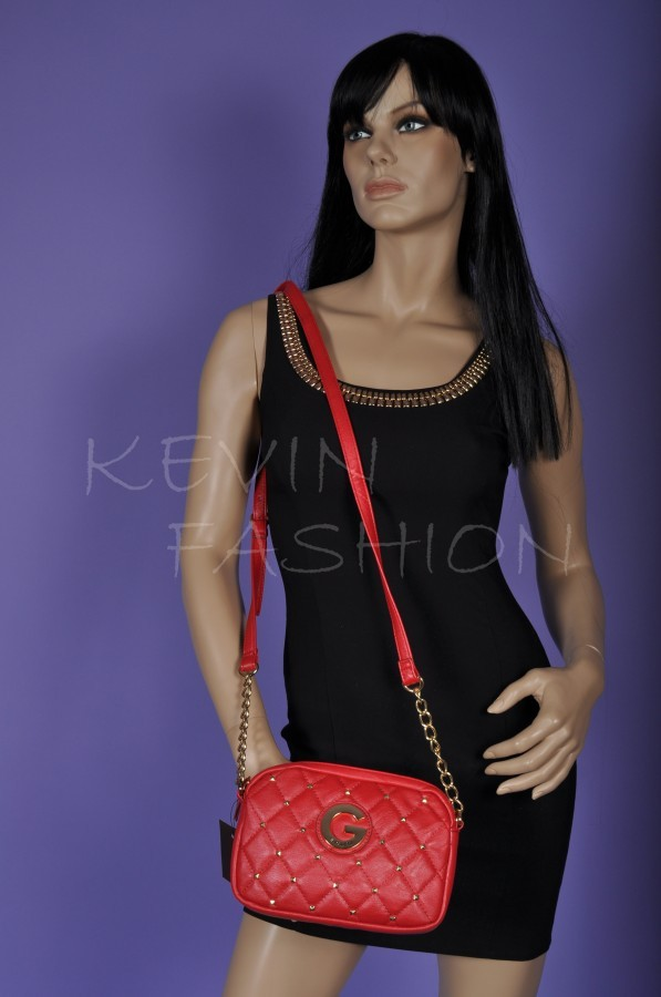 Guess kabelka Crossbody Ellie Red