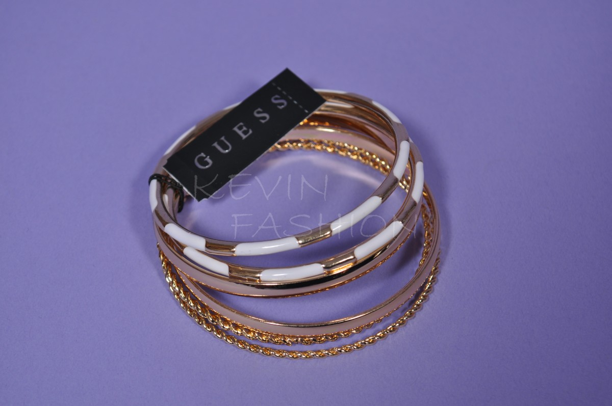 Guess set náramků BF1 M.S.R.P. gold