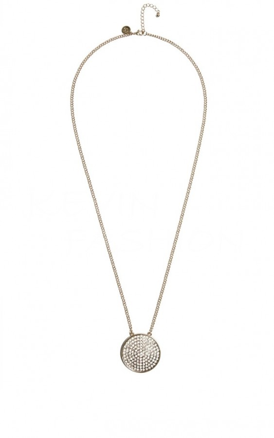 Guess řetízek Gold-Tone Pendant Necklace